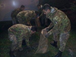 Maltempo/ Alluvione Modena, continua l'impegno dell'esercito in Emilia