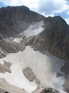 ghiacciaio calderone gran sasso