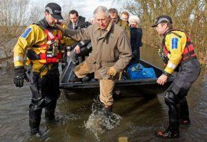 BRITAIN-WEATHER-FLOOD-ROYAL