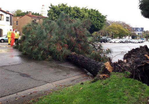 Maltempo usa forti piogge nel sud della california frane for Case moderne nel sud della california