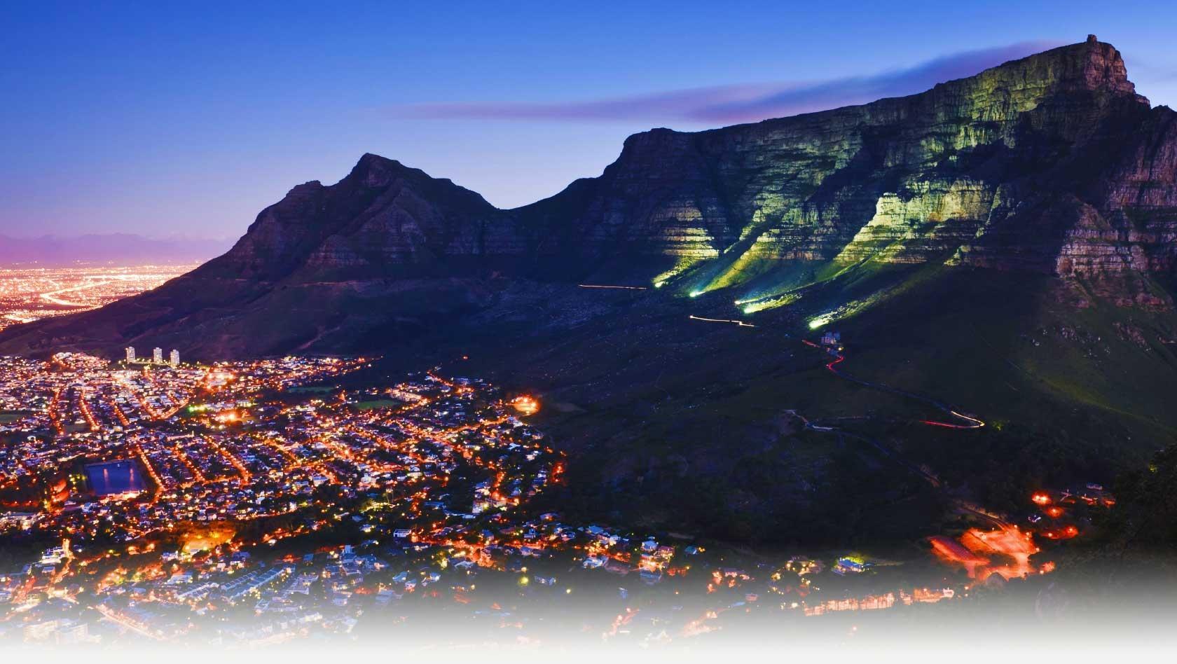 Sudafrica cape town la storia di table mountain tra for Sud africa immagini