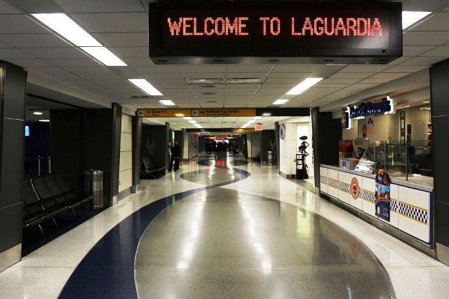 Aeroporto New York La Guardia : New york evacuato l aeroporto la guardia meteo web