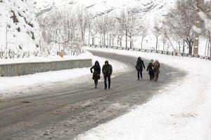 IRAN-WEATHER-SNOW