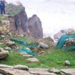 Maltempo: crollo parziale tempio dorico Kaulon a Monasterace per mareggiata