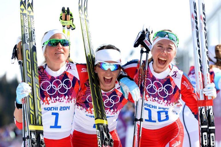 Podio sci nordico tutto norvegese