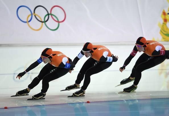 Team Olanda femminile, oro e record