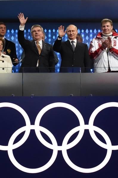 Putin alla cerimonia