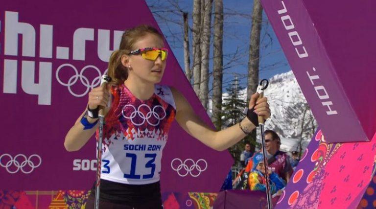 Sci Nordico, atleta USA in maniche corte
