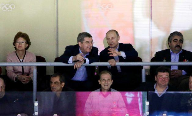 Putin sugli spalti per USA -Russia