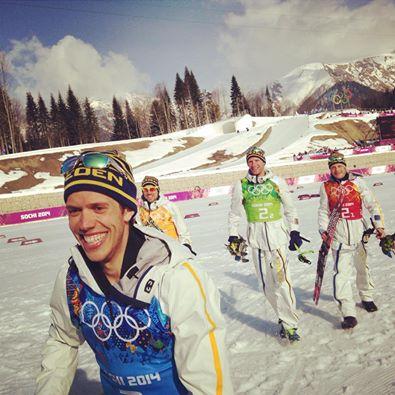 Svedesi del Fondo, e la poca neve del Laura Ski Centre