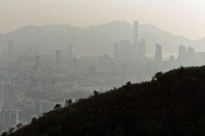 HONG KONG-CHINA-ENVIRONMENT-POLLUTION-HEALTH