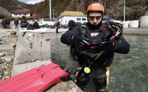 Japan Tsunami Diver