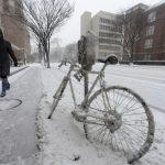 Snowstorm in Washington DC