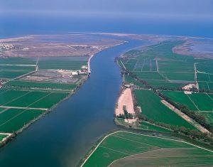 Desembocadura  rio ebro