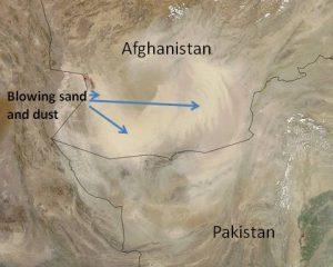 MODIS-dust-storm