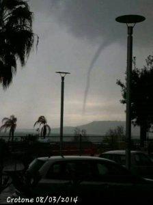 crotone tornado