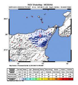 lampadari misterbianco : Scossa di terremoto di ieri sera in Sicilia (M 4.0): la scheda con gli ...