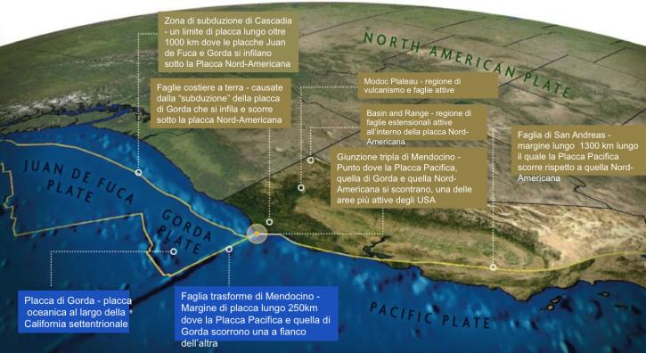 Risultati immagini per Cascadia zona di subduzione
