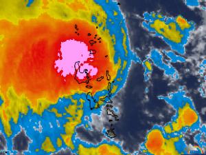 tropical storm Lusi