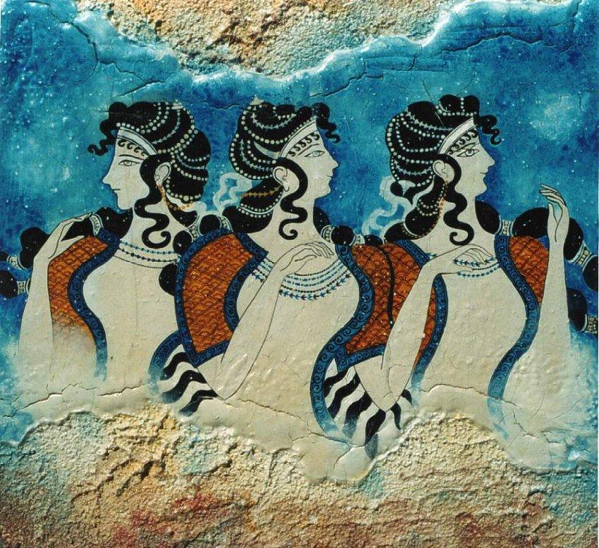 Palazzo di cnosso creta il pi spettacolare tra i for Immagini di murales e graffiti