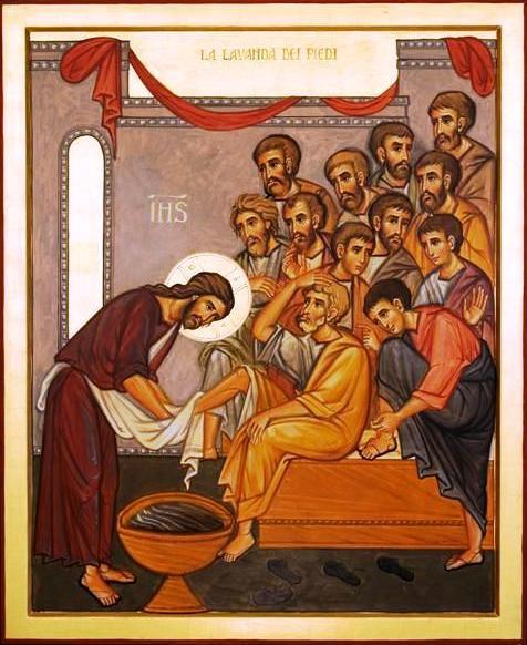 Risultati immagini per giovedì santo cena domini