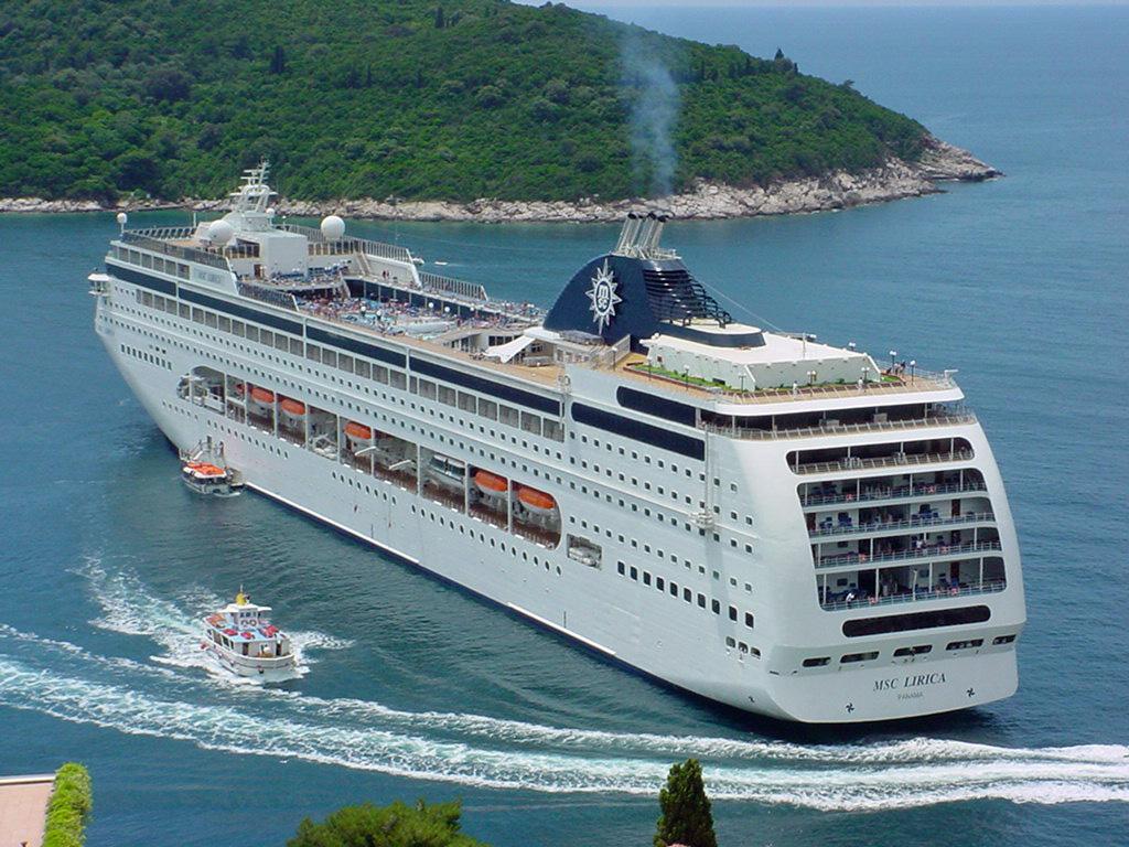 Turismo a trapani 27 scali della msc lirica la nave for Msc immagini
