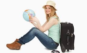donna e vacanza