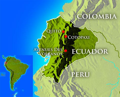 Le caratteristiche uniche del clima dell 39 ecuador paese for Cajeros cerca de mi ubicacion