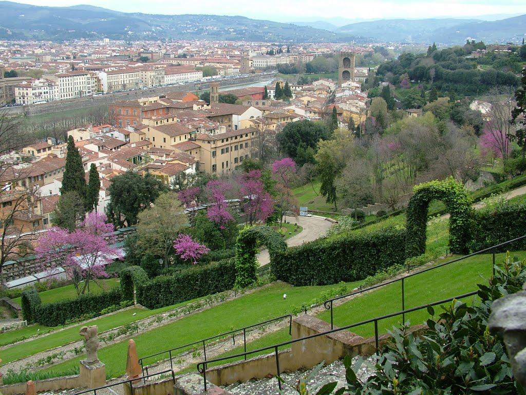Firenze il giardino bardini un polmone verde for Giardino firenze