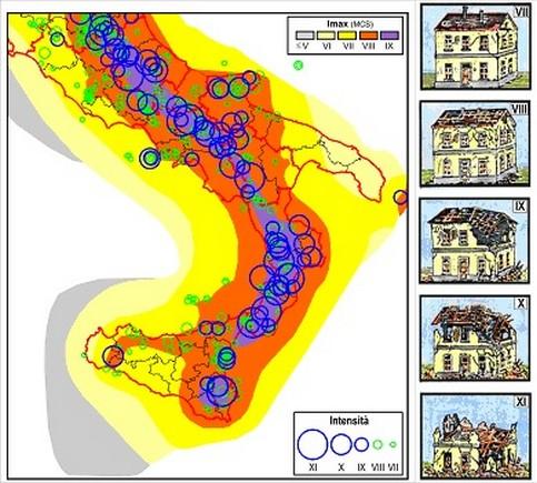 Terremoti rischio sismico troppo sottovalutato anche al for Mappa sismica italia