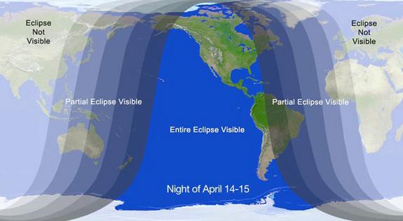 L'eclissi totale in diretta streaming: ecco la prima luna ...