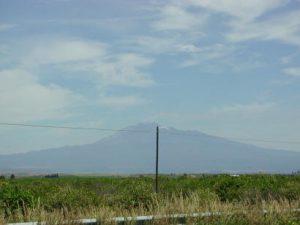 Il tipico paesaggio della piana di Catania