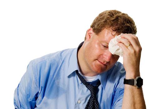 Iperidrosi o sudorazione eccessiva: tipi e cause, sintomi, diagnosi