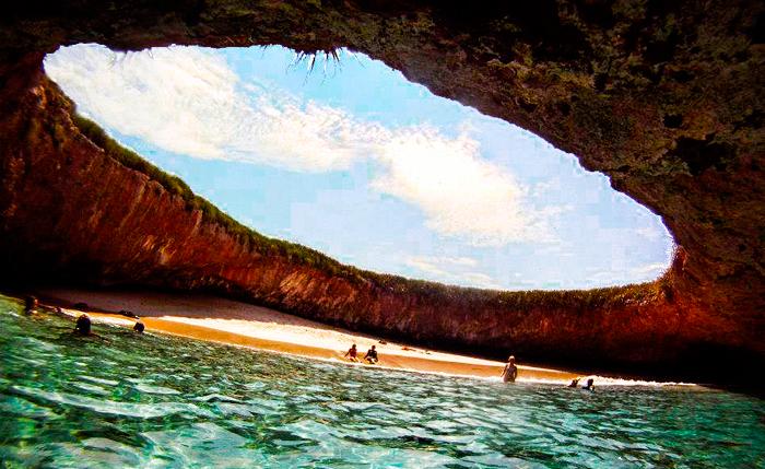 La Playa De Amor Isole Marieta Messico Una Meravigliosa