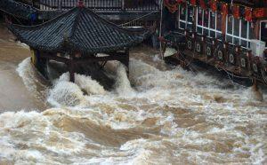 CHINA HUNAN FENGHUANG RAINSTORM FLOODS