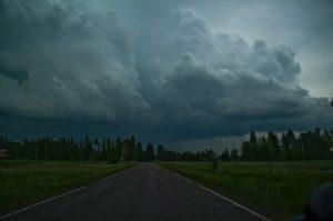 Gli spettacolari temporali osservati in Finlandia nei giorni scorsi