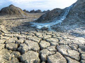 Vulcano di fango - parco Gobustan