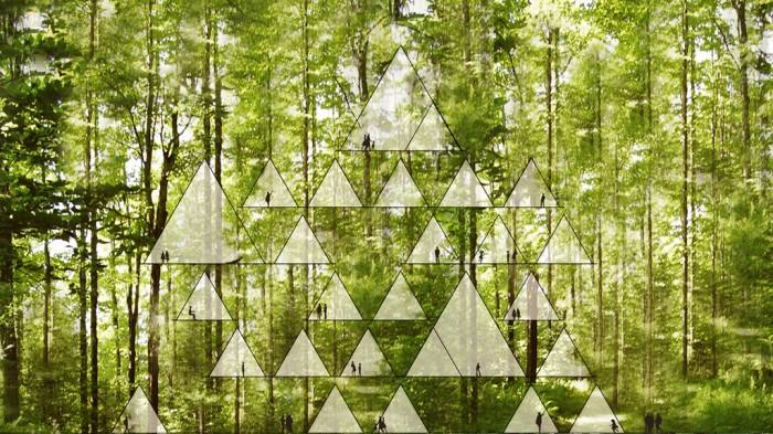 One With The Birds L Innovativa Tenda Hotel In Bambu Ispirata Al