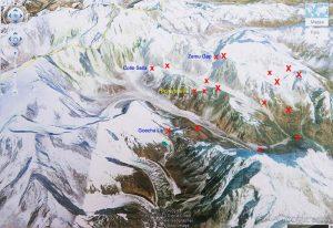 Himalaya: Fosco ispira missione italiana,nasce 'Porta Maraini' - Mappa finale esplorazione.