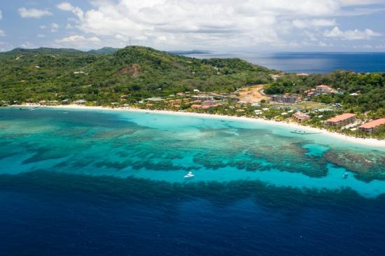 Isola di roatan baia dell 39 honduras un angolo di paradiso - Roatan dive sites ...