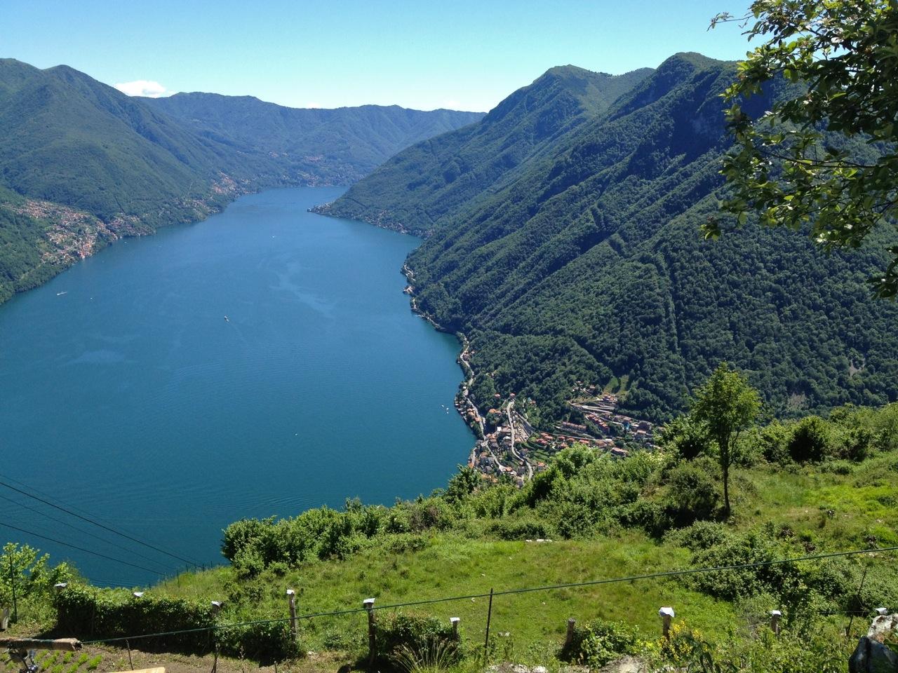 Sul lago di como la grotta pi lunga d 39 italia grazie allo for Disegni casa sul lago con vista sul lago