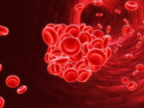 Coagulo di sangue su una vena in sintomi di fotografia di gamba