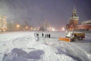 Entro la prossima settimana Mosca dovrebbe sperimentare la prima nevicata autunnale