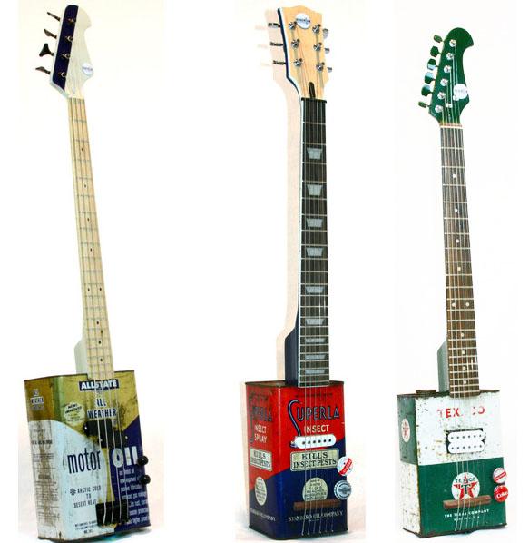 Molto Riciclo creativo: quando gli strumenti musicali prendono vita da  ZL78