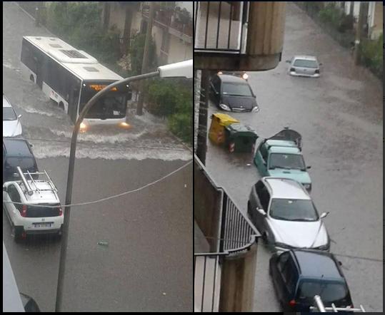 Maltempo in Sicilia, Catania nel caos: città allagata, il ...