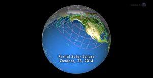 eclissi solare parziale