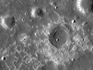 formazioni vulcaniche luna
