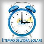 Con Ottobre torna l'ora solare: dormiremo un'ora in più