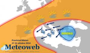 previsioni meteo fine ottobre
