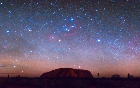 Australia un viaggio tra le stelle e il deserto foto for Disegno una finestra tra le stelle karaoke